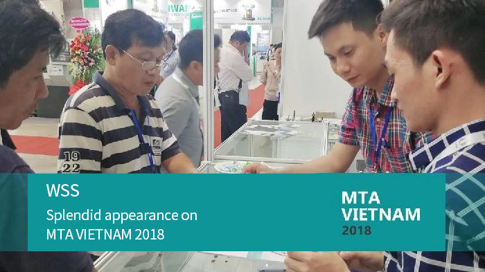 WSS| Splendid appearance on MTA VIETNAM 2018