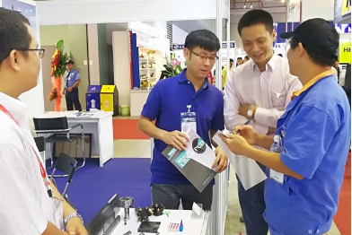 MTA Vietnam opened in Ho Chi Minh city, the WSS booth was successful