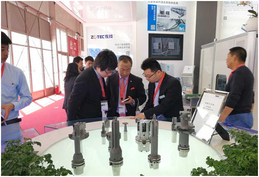 The 15. CIMT opens in Beijing, the stand of WSS is successful